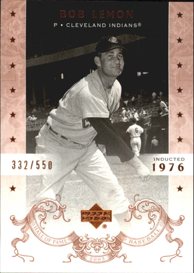 2005 Upper Deck Hall of Fame #7 Bob Lemon