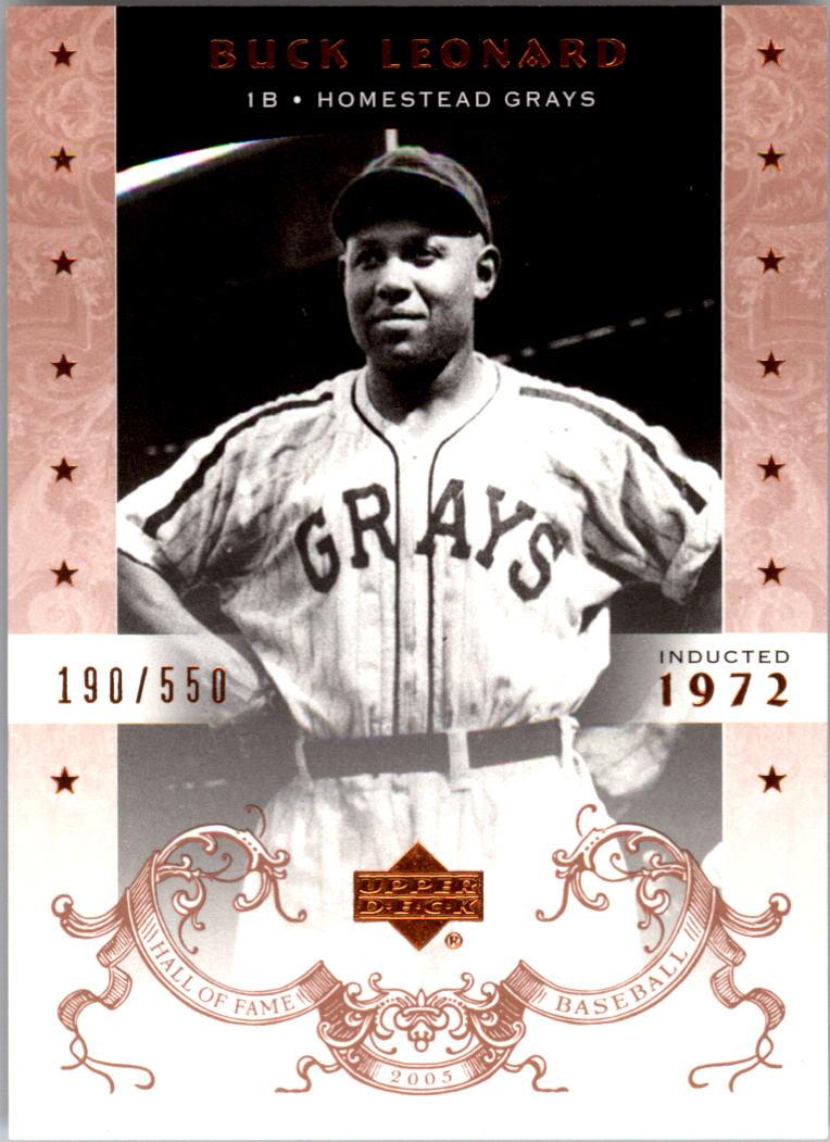 2005 Upper Deck Hall of Fame #10 Buck Leonard