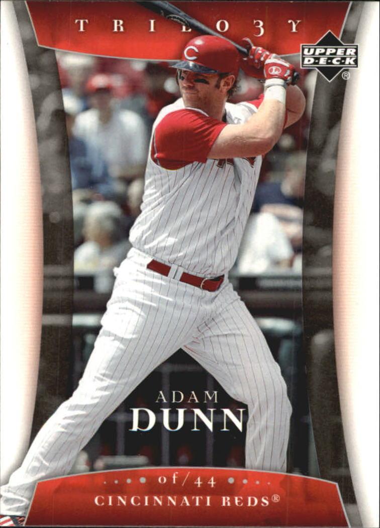 2005 Upper Deck Trilogy #2 Adam Dunn