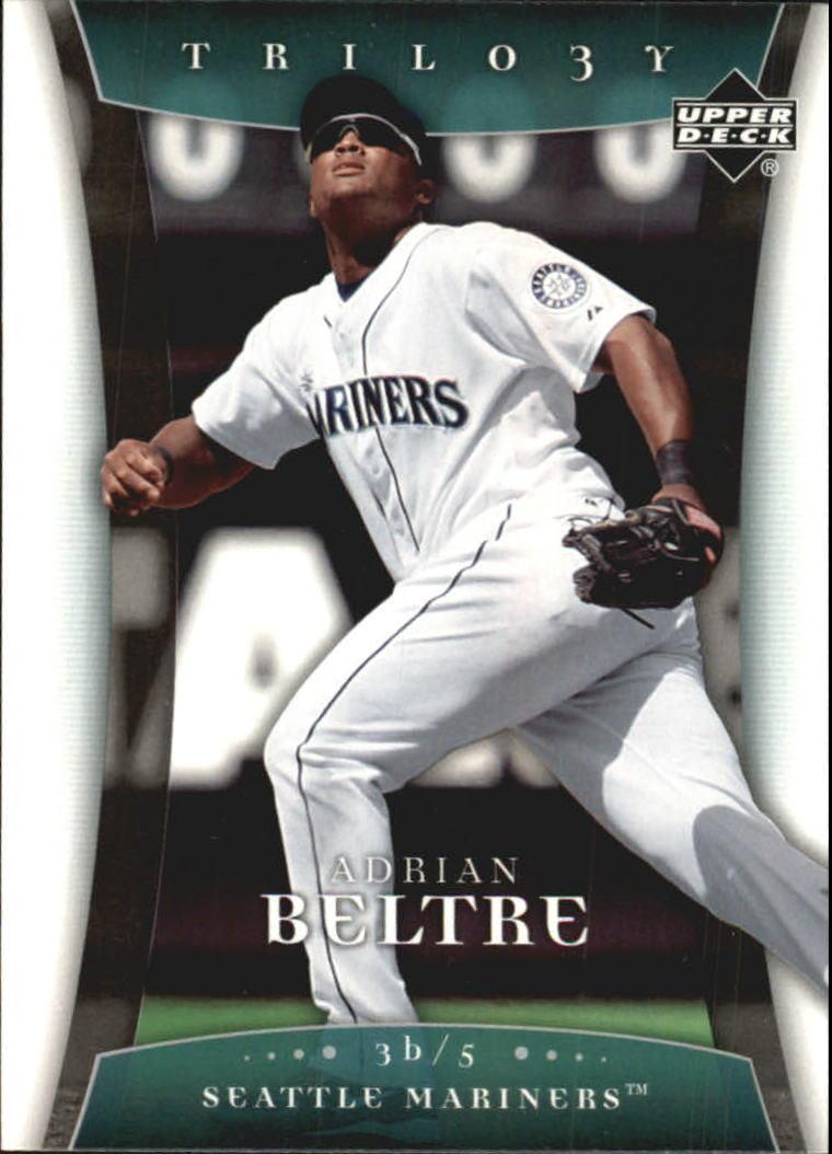2005 Upper Deck Trilogy #3 Adrian Beltre
