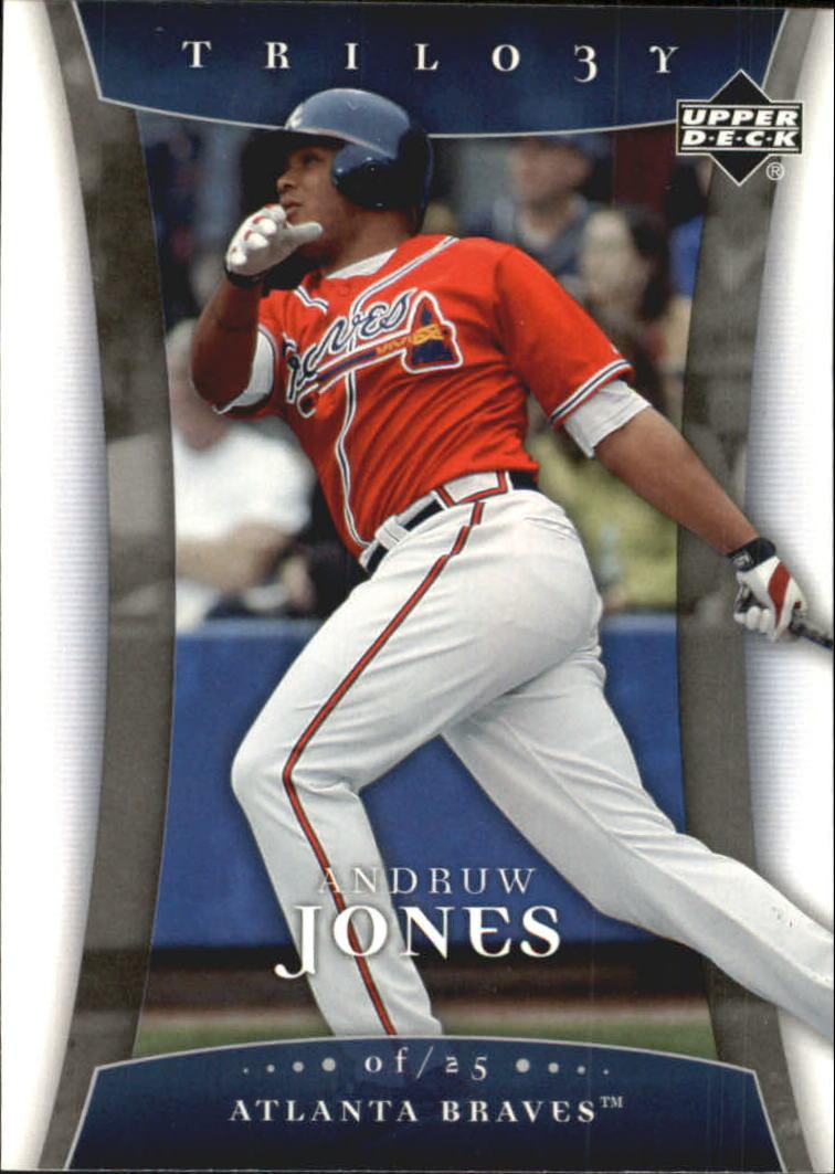 2005 Upper Deck Trilogy #7 Andruw Jones