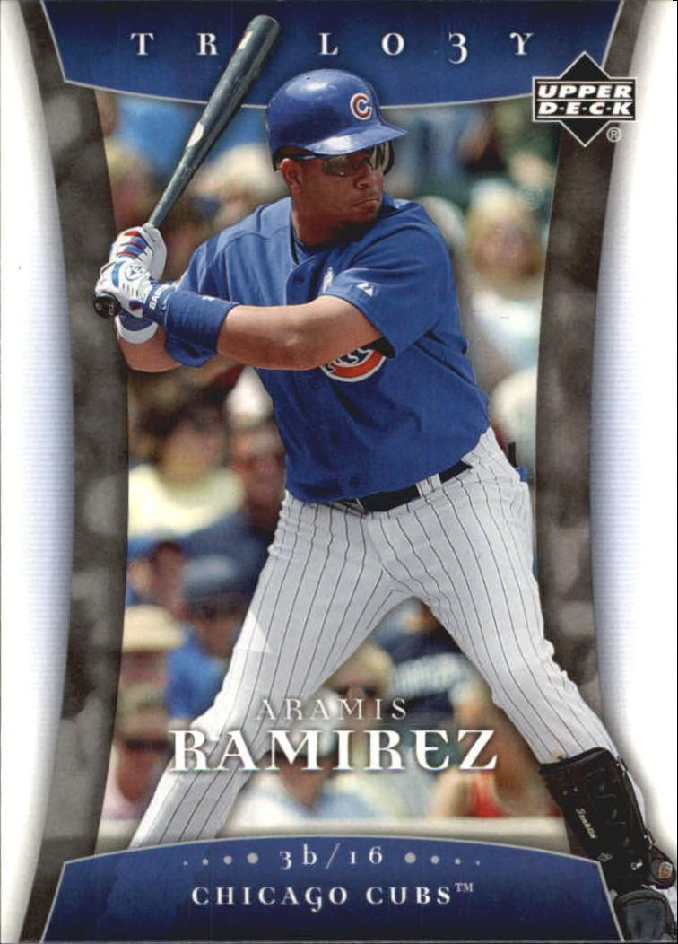 2005 Upper Deck Trilogy #8 Aramis Ramirez