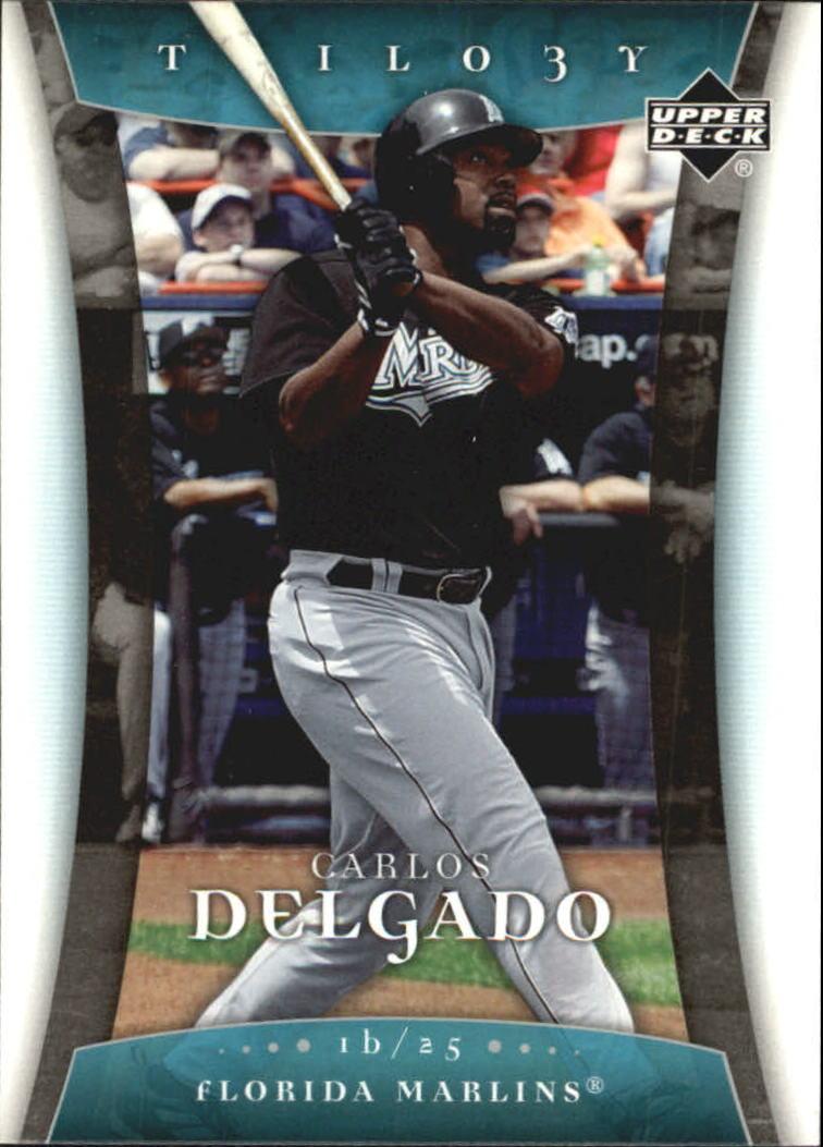 2005 Upper Deck Trilogy #17 Carlos Delgado