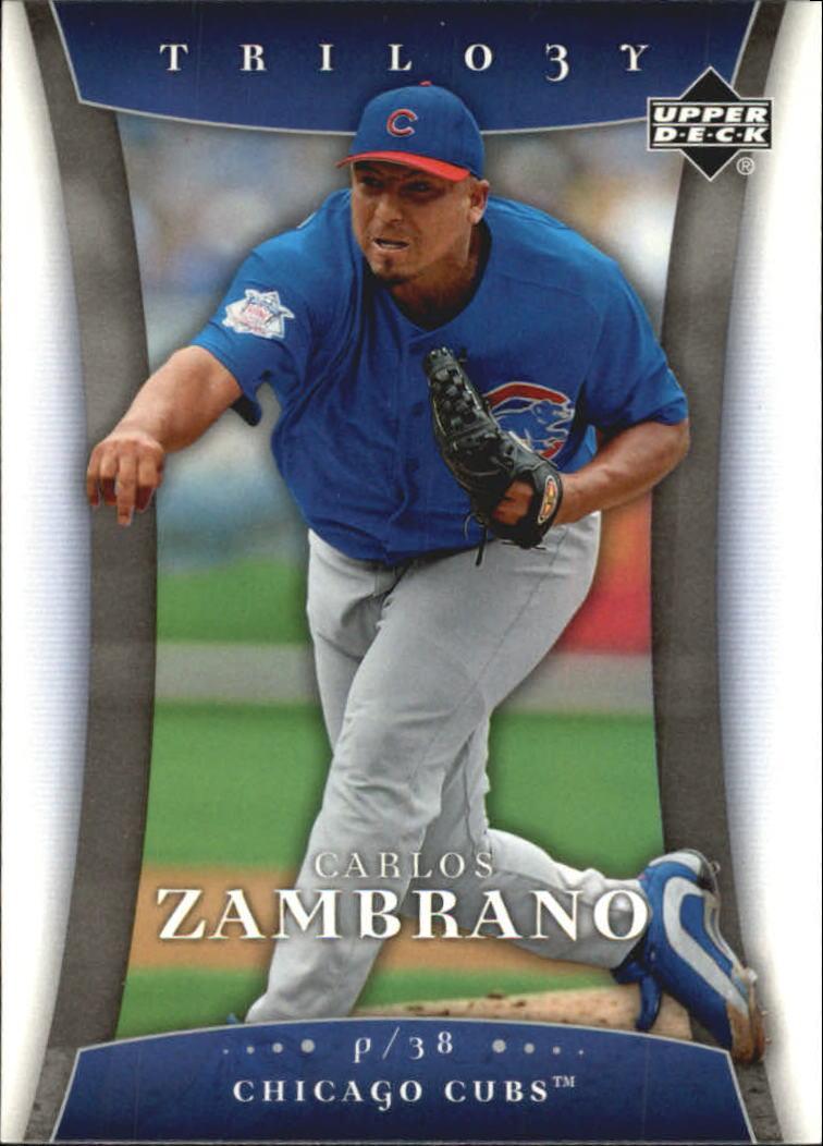 2005 Upper Deck Trilogy #18 Carlos Zambrano