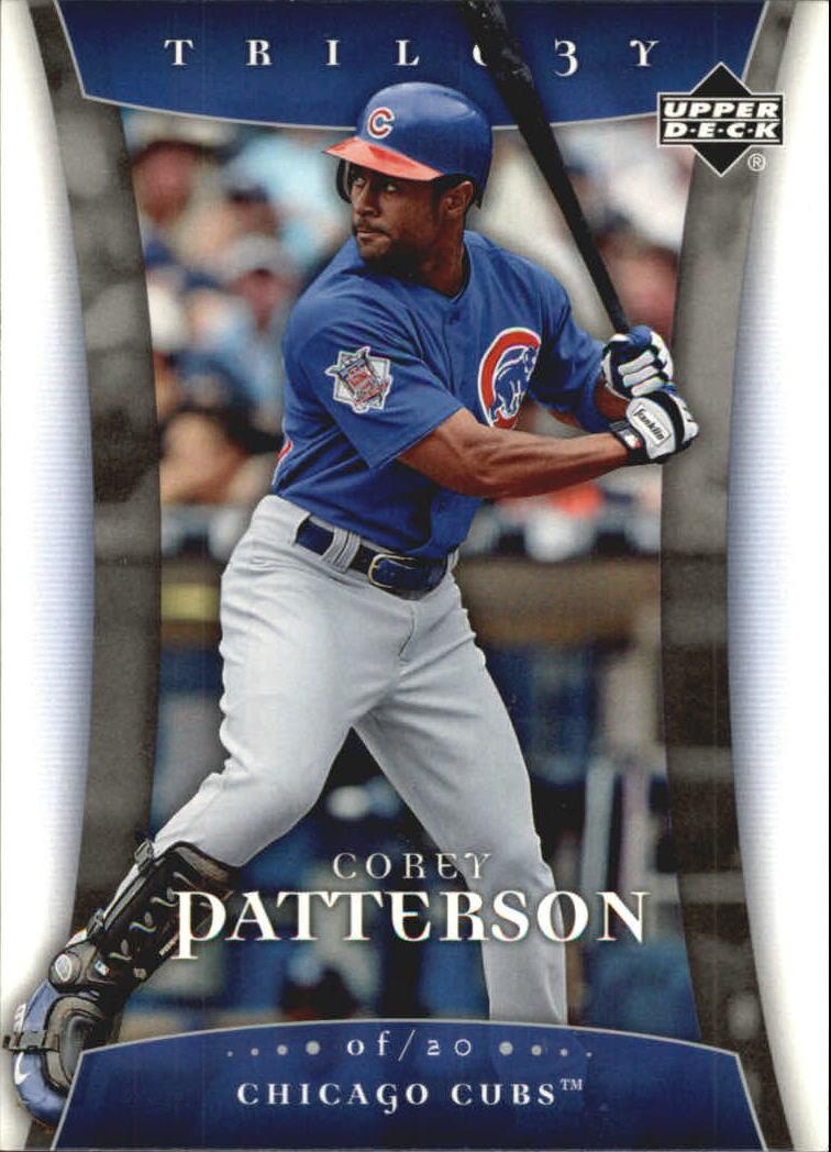 2005 Upper Deck Trilogy #20 Corey Patterson