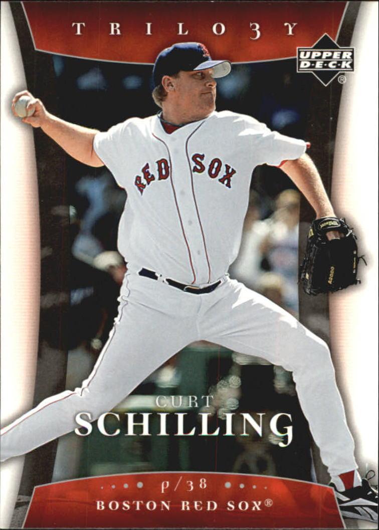 2005 Upper Deck Trilogy #22 Curt Schilling