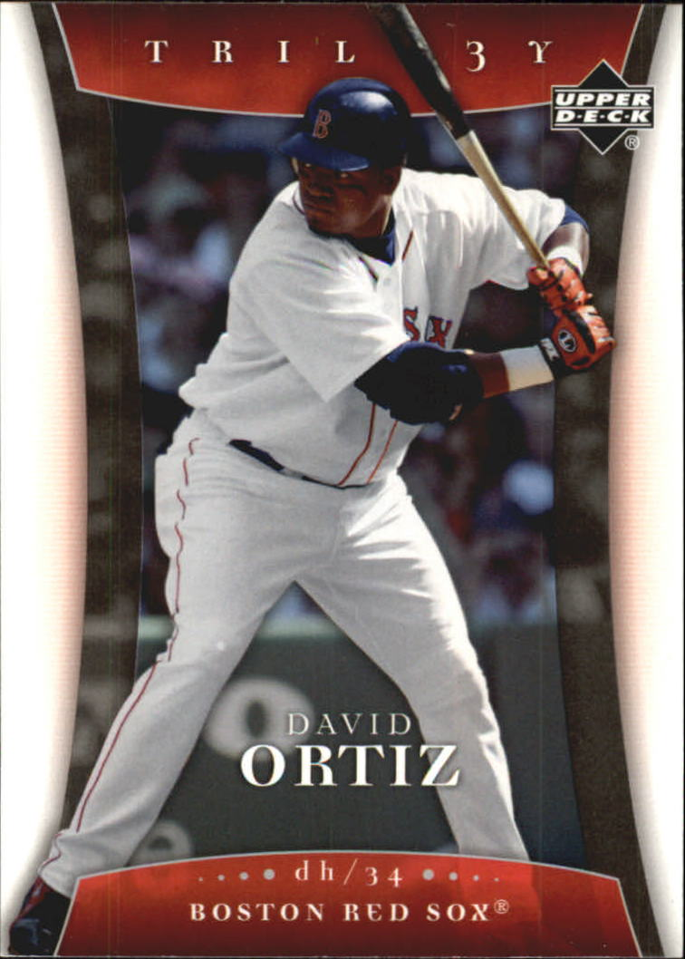 2005 Upper Deck Trilogy #24 David Ortiz
