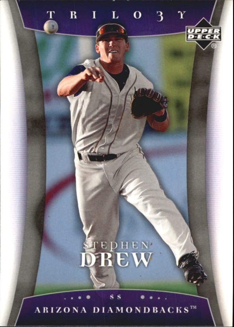 2005 Upper Deck Trilogy #89 Stephen Drew RC