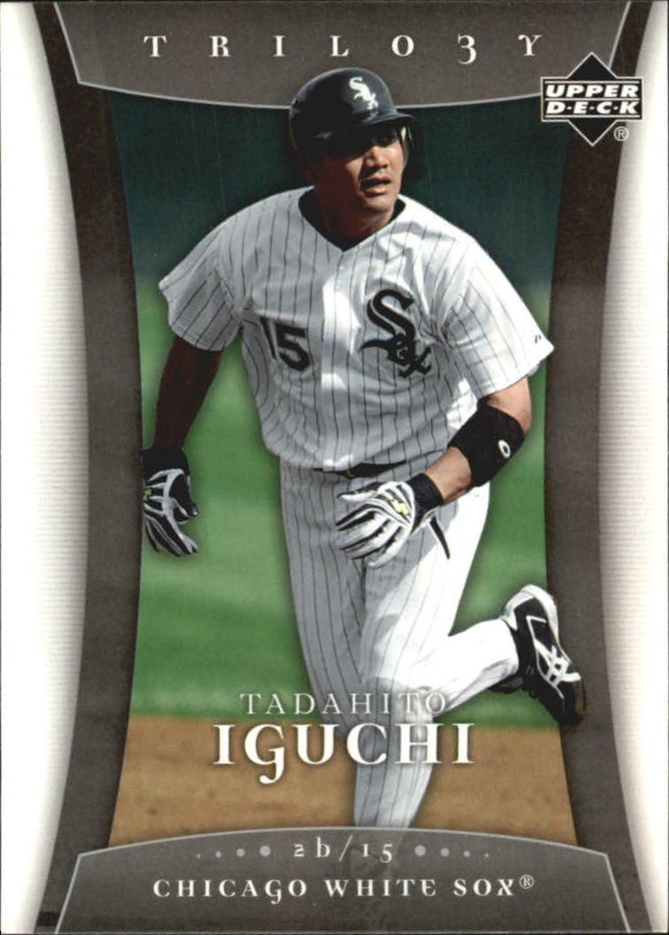 2005 Upper Deck Trilogy #90 Tadahito Iguchi RC