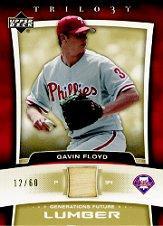 2005 Upper Deck Trilogy Generations Future Lumber Gold #GF Gavin Floyd