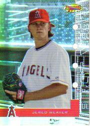 2005 Bowman's Best #36 Jered Weaver FY RC