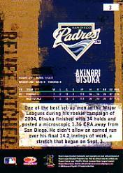 2005 Leather and Lumber #3 Akinori Otsuka back image