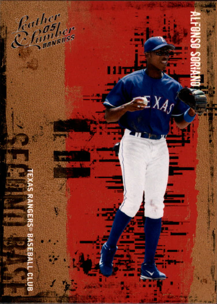 2005 Leather and Lumber #7 Alfonso Soriano
