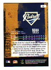 2005 Leather and Lumber #19 Brian Giles back image
