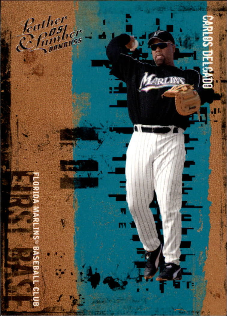 2005 Leather and Lumber #24 Carlos Delgado