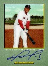 2005 Topps Turkey Red Autographs #DO David Ortiz C