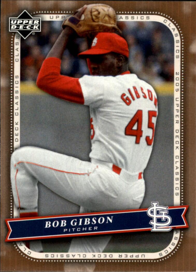 2005 Upper Deck Classics #10 Bob Gibson