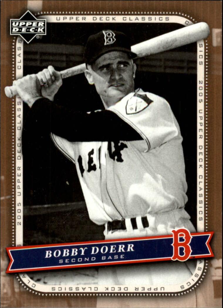 2005 Upper Deck Classics #12 Bobby Doerr