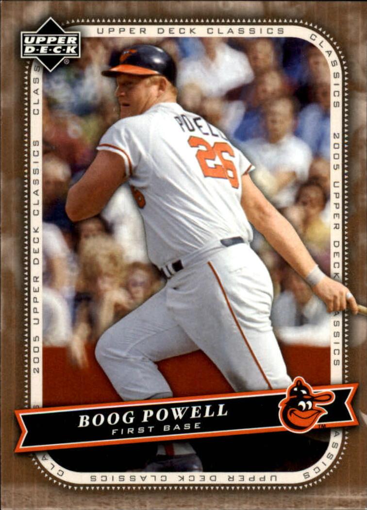 2005 Upper Deck Classics #13 Boog Powell