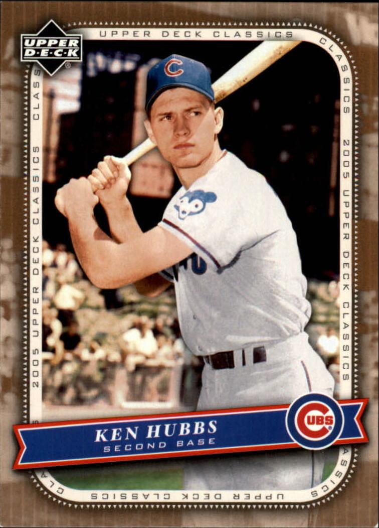 2005 Upper Deck Classics #14 Ken Hubbs