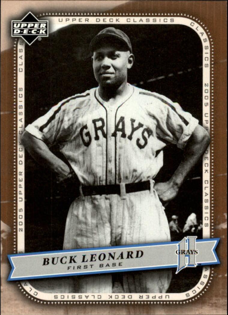 2005 Upper Deck Classics #16 Buck Leonard
