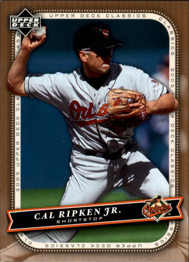 2005 Upper Deck Classics #17 Cal Ripken