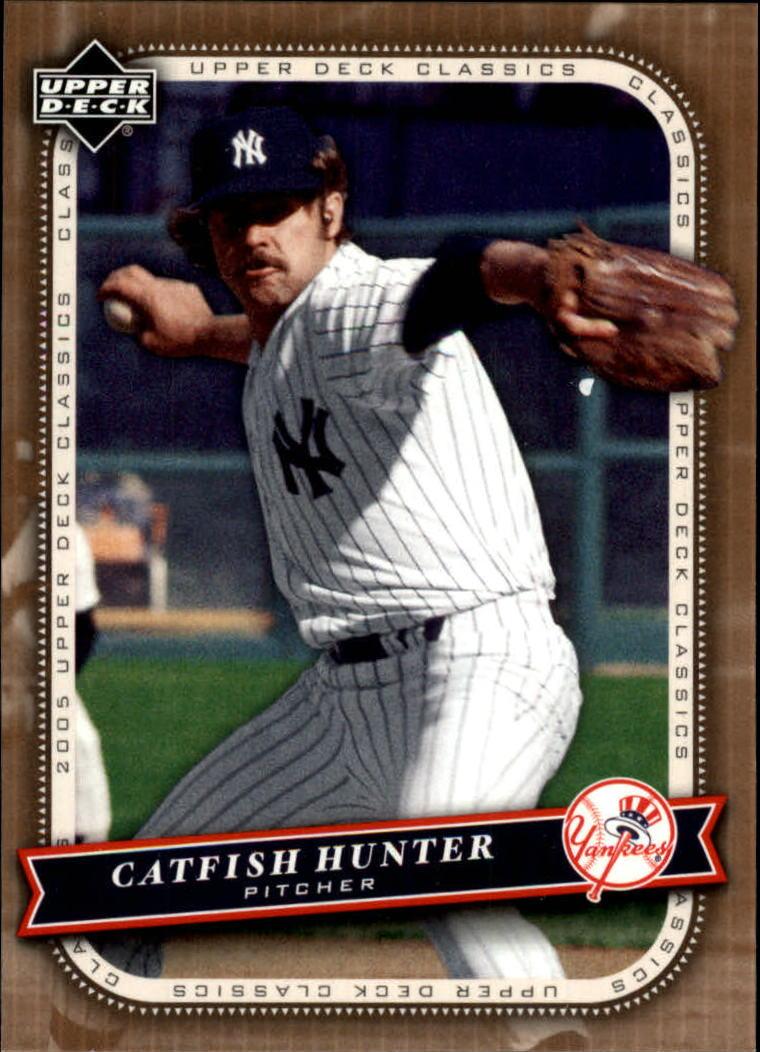 2005 Upper Deck Classics #19 Catfish Hunter