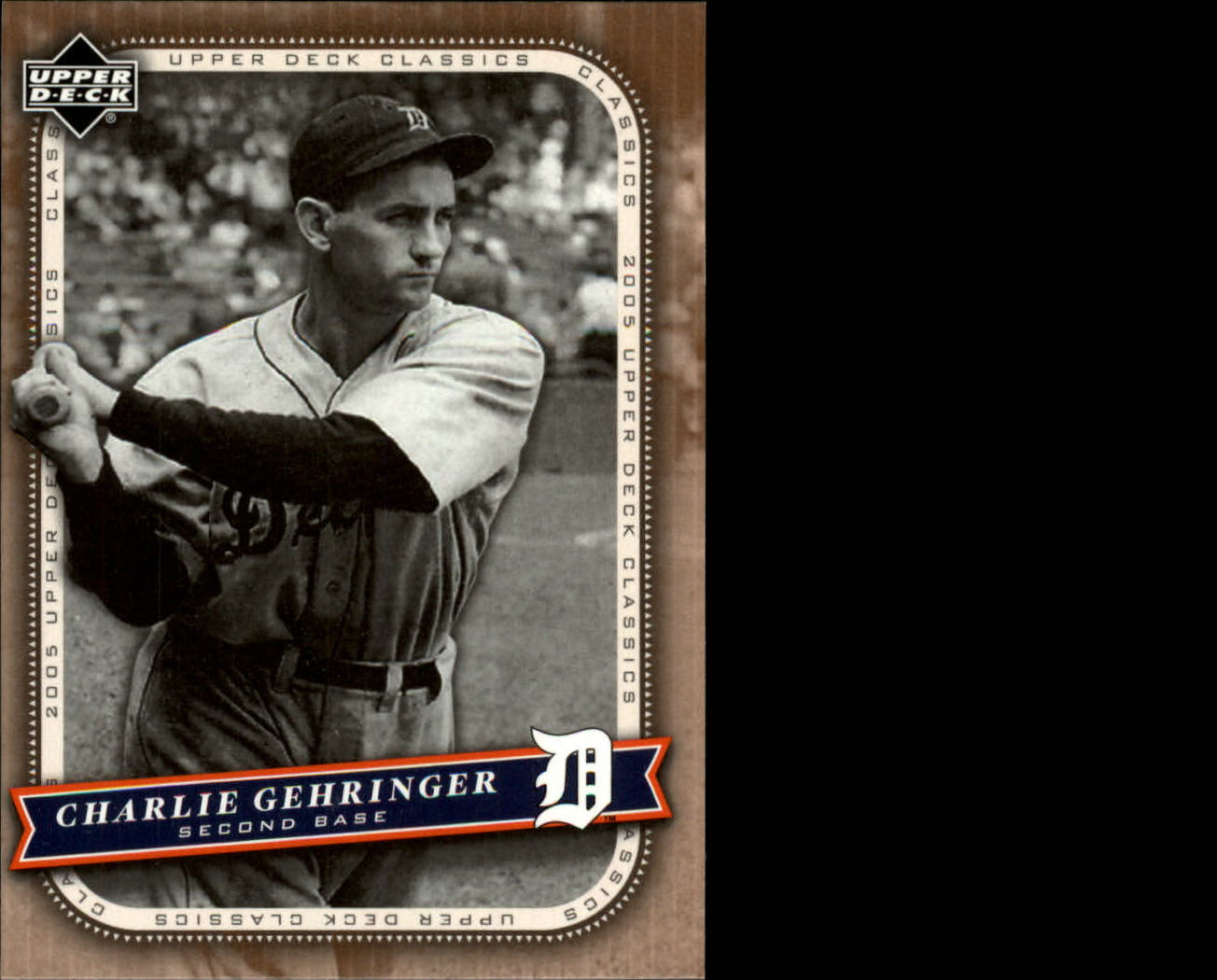 2005 Upper Deck Classics #21 Charlie Gehringer