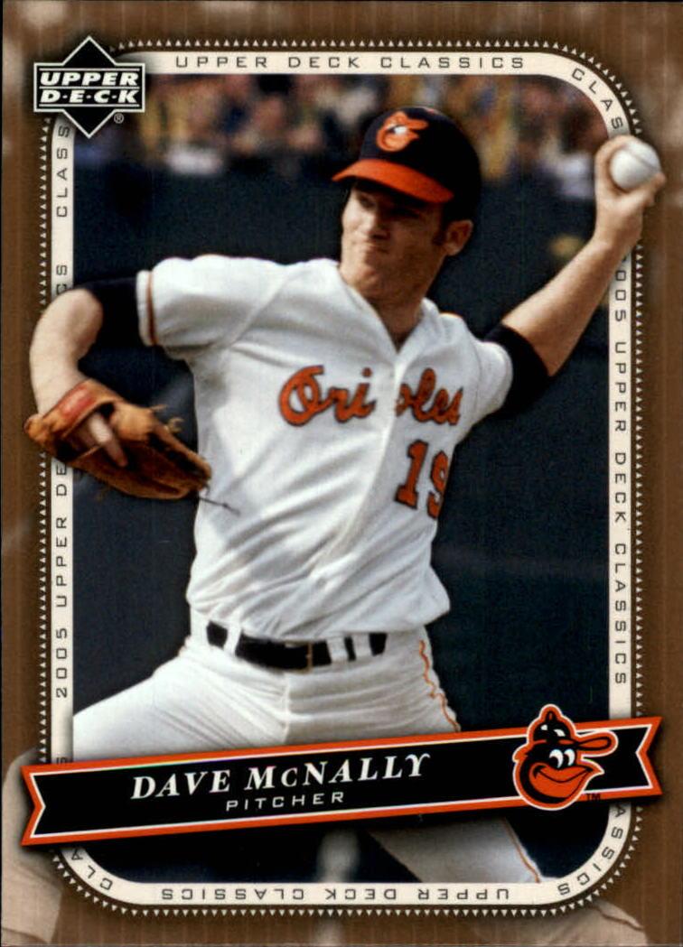 2005 Upper Deck Classics #24 Dave McNally