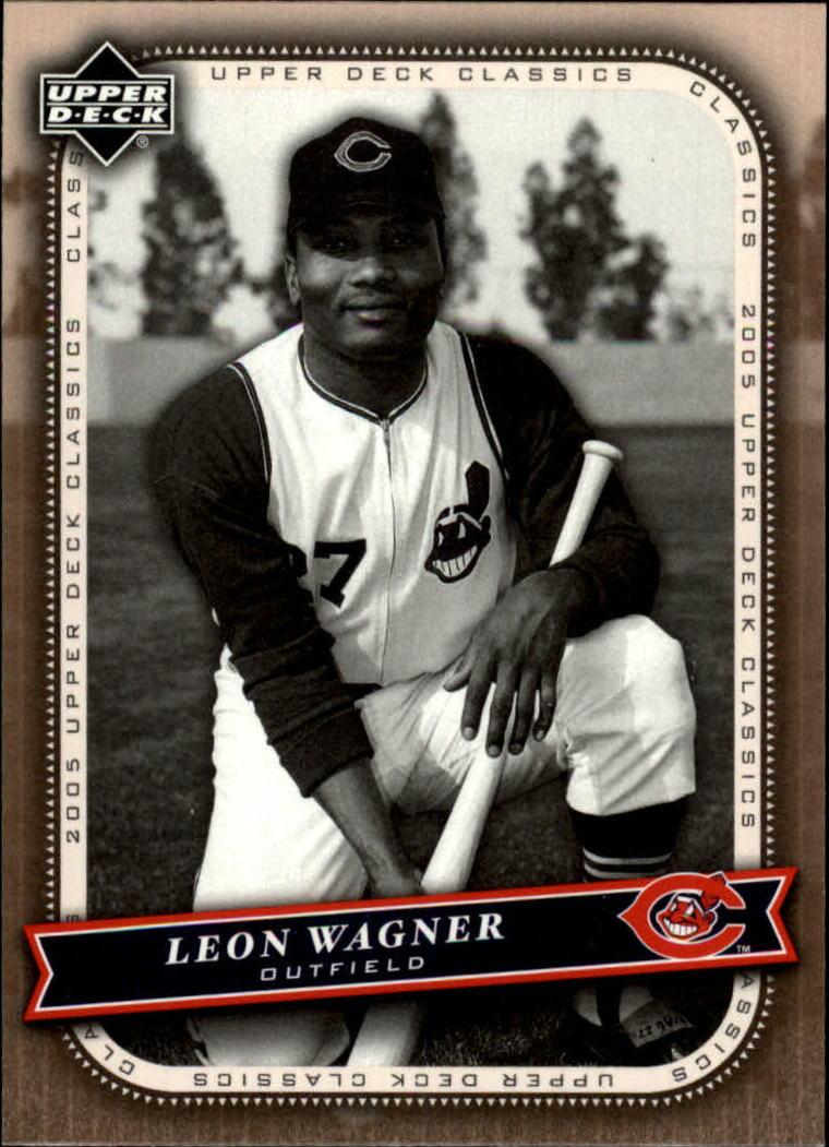 2005 Upper Deck Classics #35 Leon Wagner