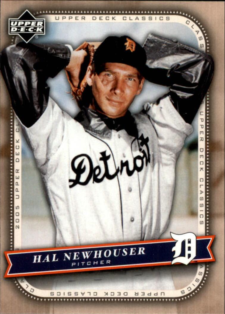 2005 Upper Deck Classics #41 Hal Newhouser