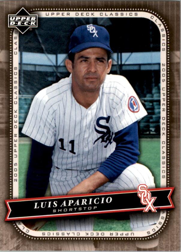 2005 Upper Deck Classics #68 Luis Aparicio