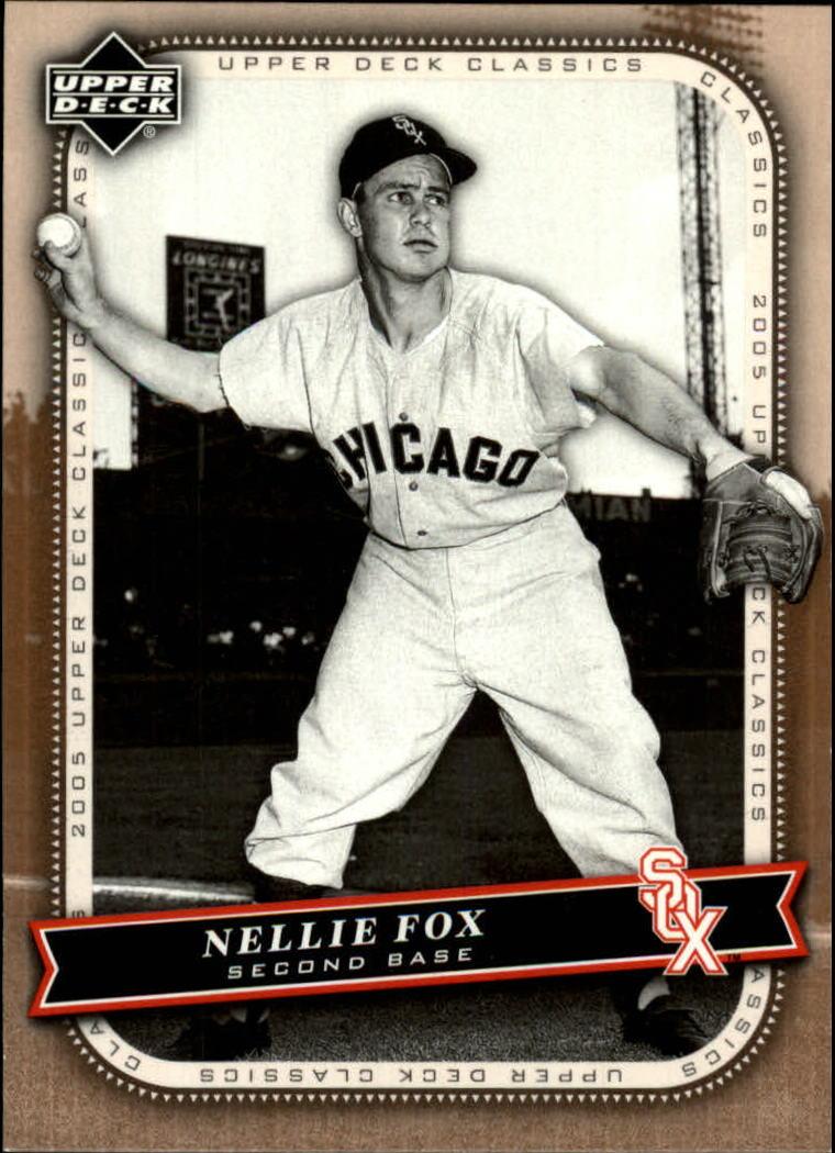 2005 Upper Deck Classics #71 Nellie Fox