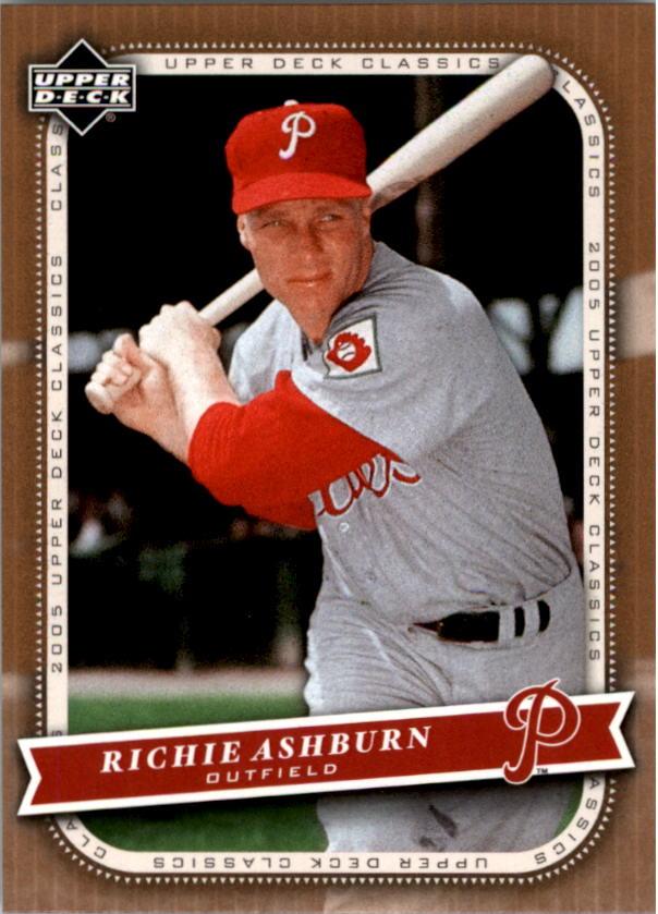 2005 Upper Deck Classics #81 Richie Ashburn