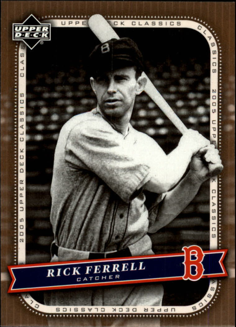 2005 Upper Deck Classics #82 Rick Ferrell