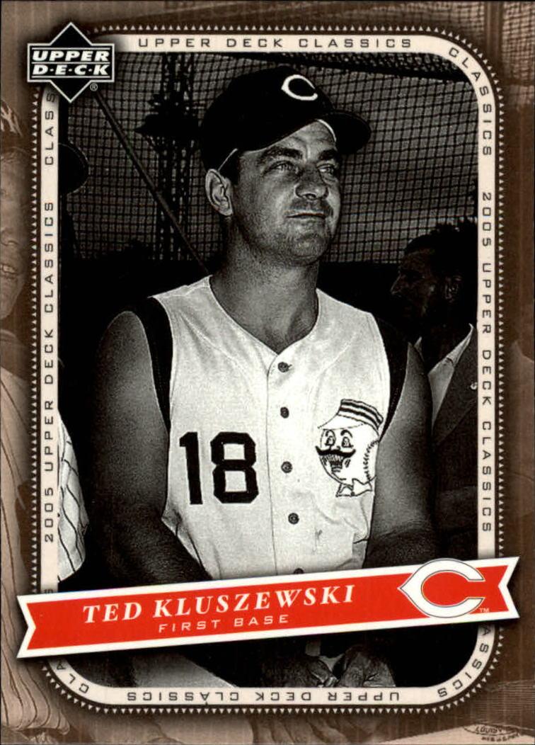 2005 Upper Deck Classics #88 Ted Kluszewski