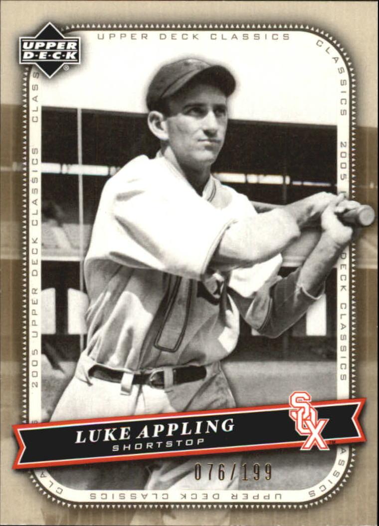 2005 Upper Deck Classics Gold #69 Luke Appling
