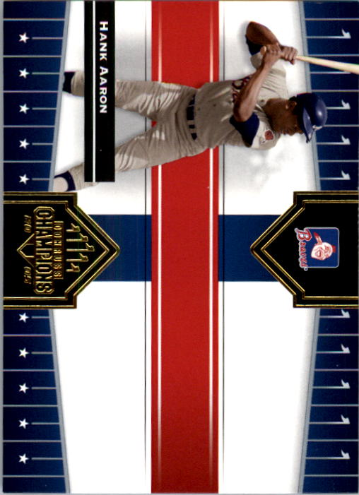 2005 Donruss Champions #244 Hank Aaron