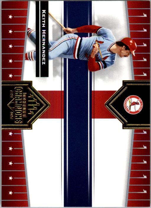 2005 Donruss Champions #258 Keith Hernandez