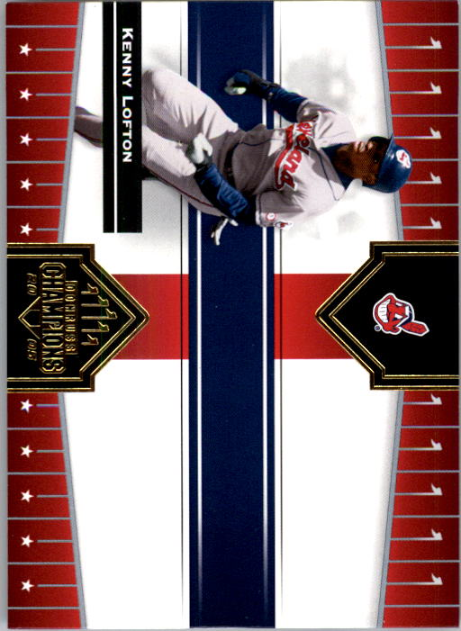 2005 Donruss Champions #312 Kenny Lofton Indians