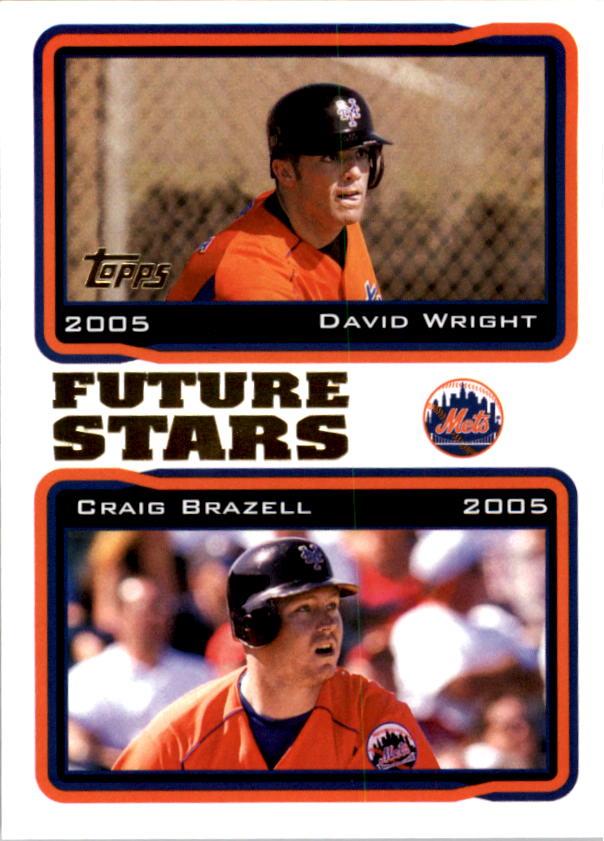 2005 Topps #330 D.Wright/C.Brazell FS