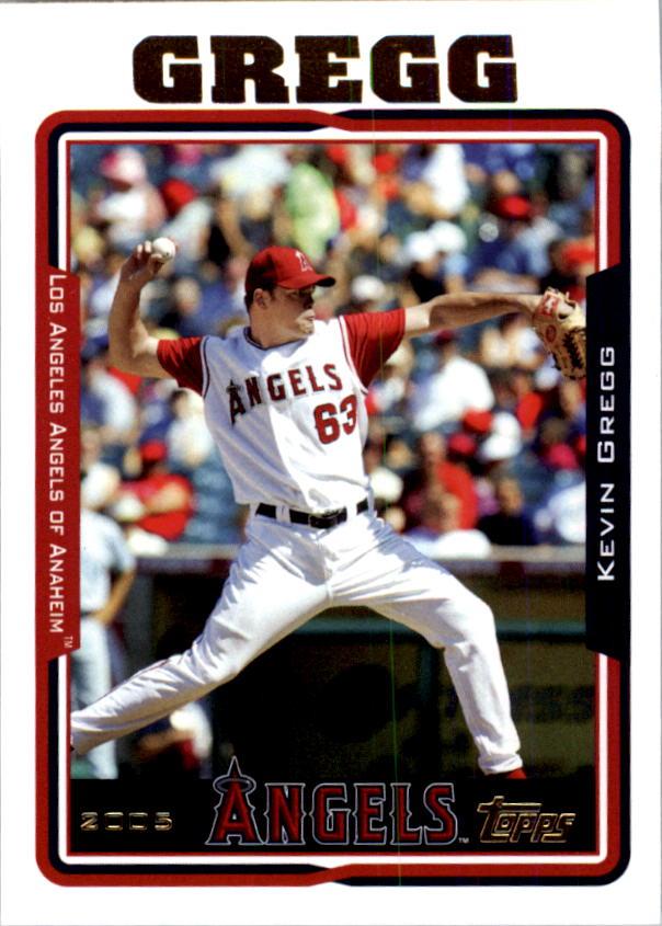 2005 Topps #599 Kevin Gregg