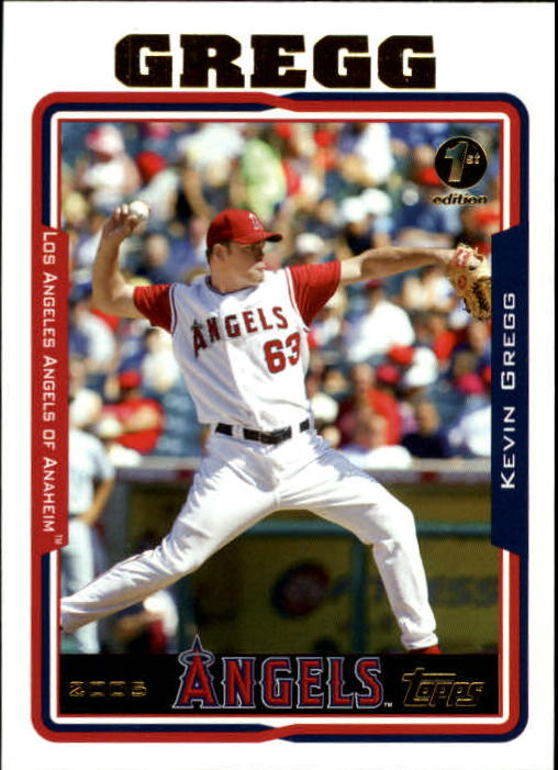 2005 Topps 1st Edition #599 Kevin Gregg