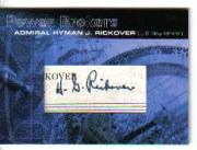 2005 Topps Power Brokers Cut Signatures #HR Admiral Hyman J. Rickover