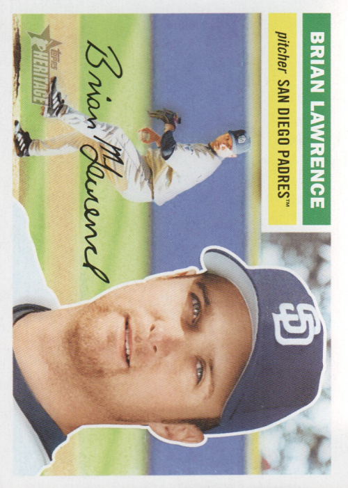 2005 Topps Heritage #241 Brian Lawrence