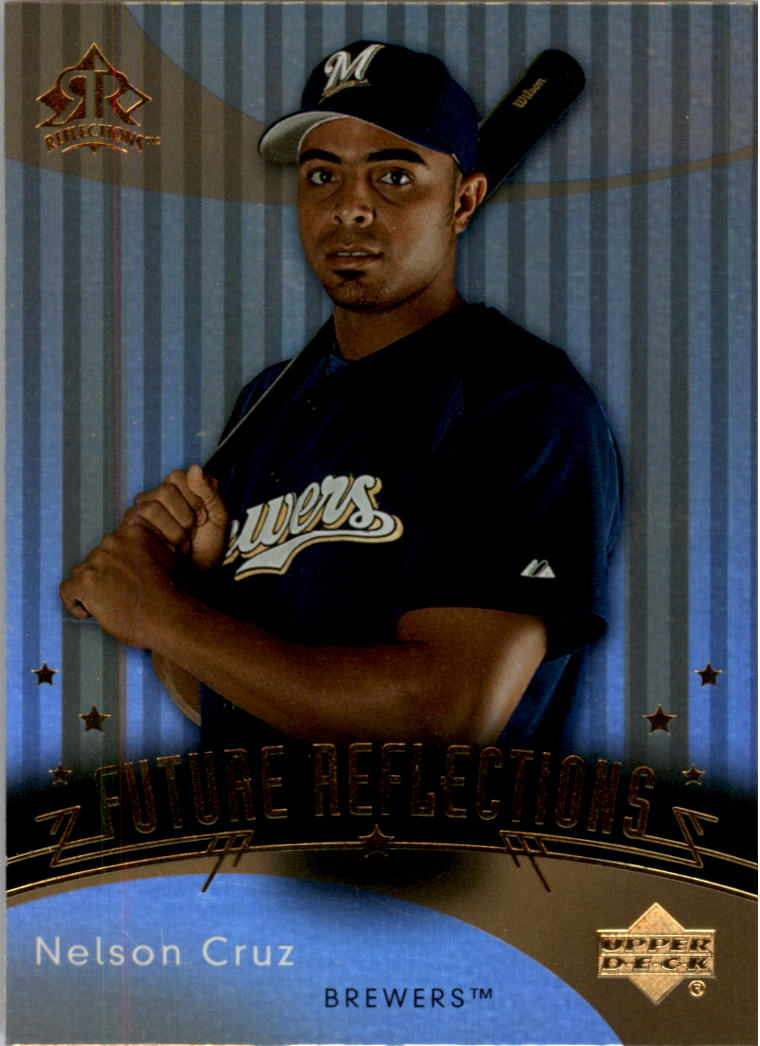 2005 Reflections #257 Nelson Cruz FR RC