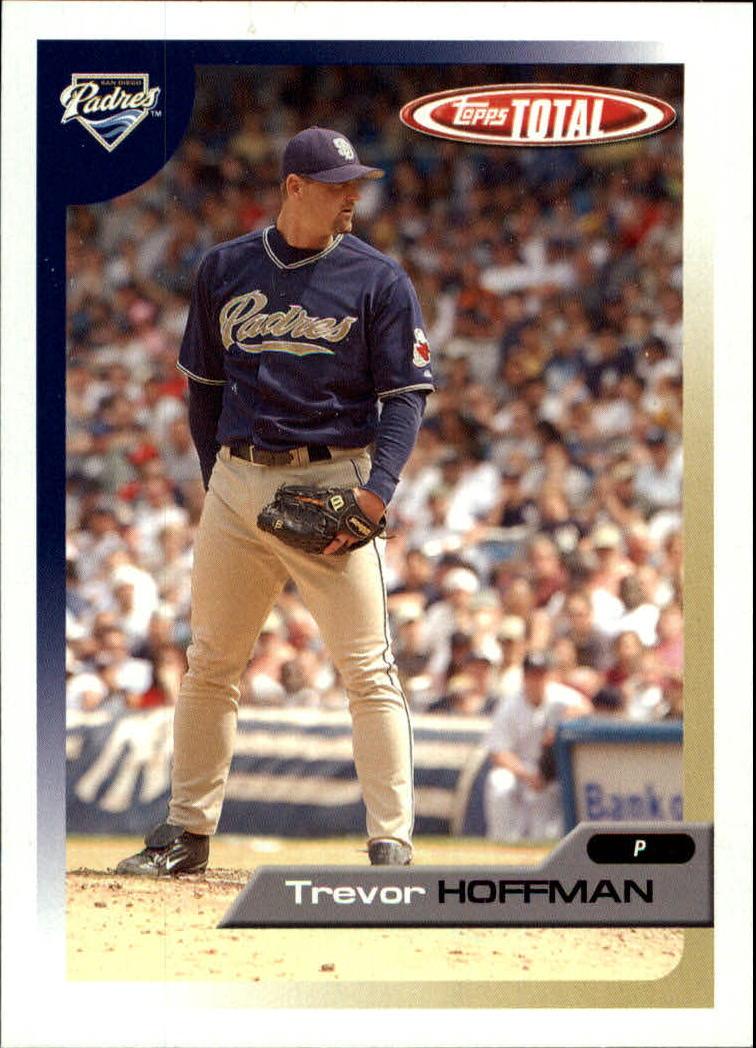 2005 Topps Total #7 Trevor Hoffman