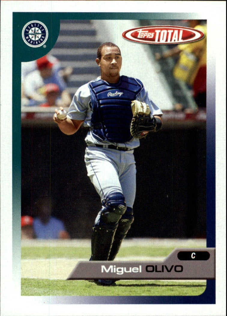 2005 Topps Total #32 Miguel Olivo