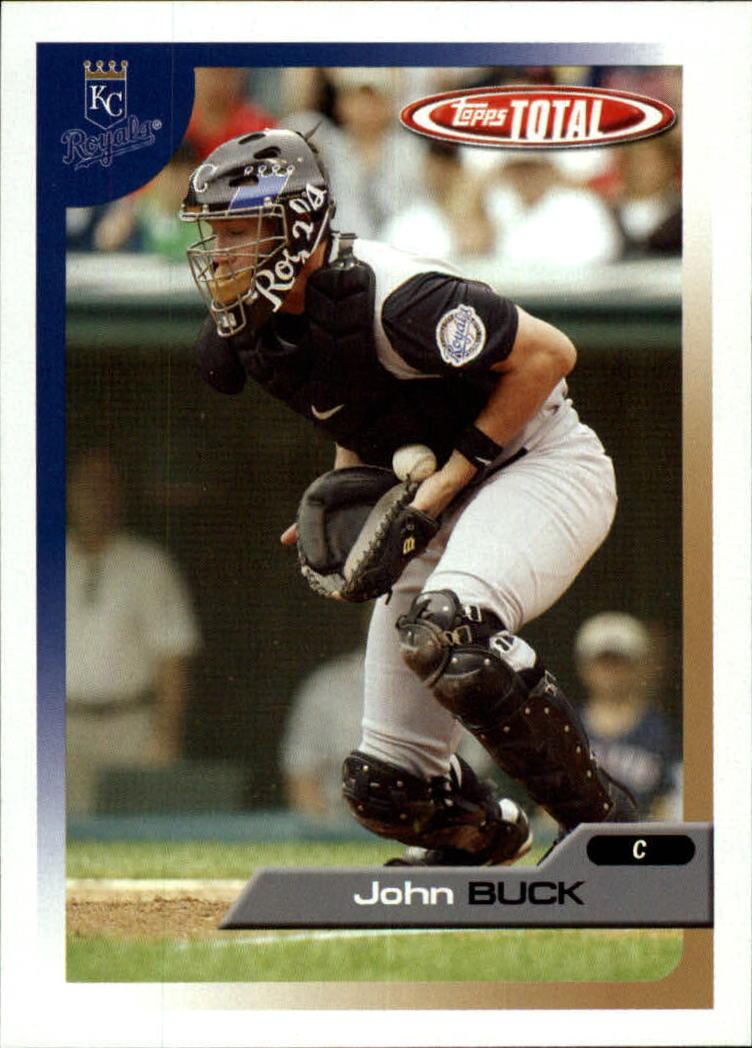 2005 Topps Total #46 John Buck