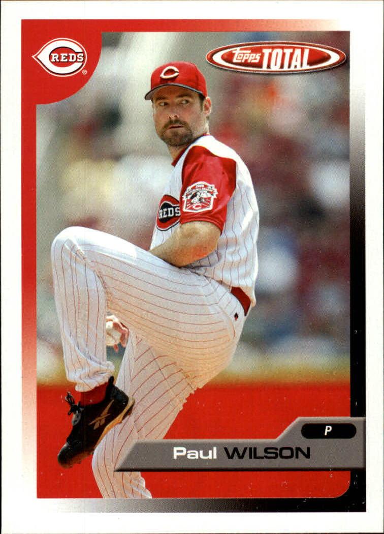 2005 Topps Total #53 Paul Wilson